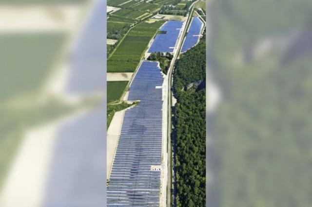 Solarpark wirft erste Gewinne ab