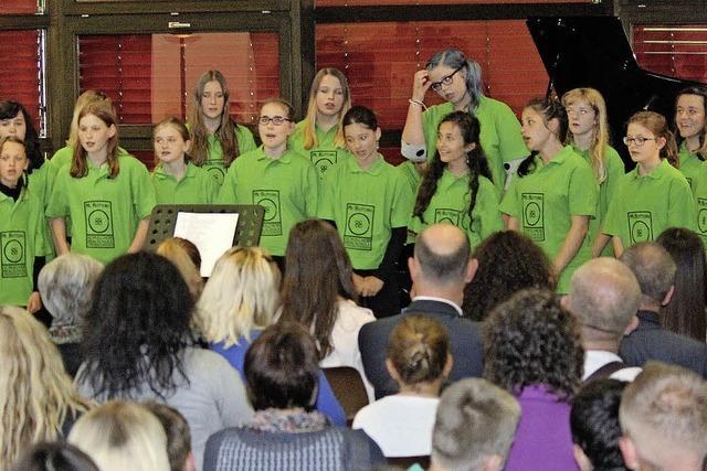 Im Schulzentrum liegt Musik in der Luft