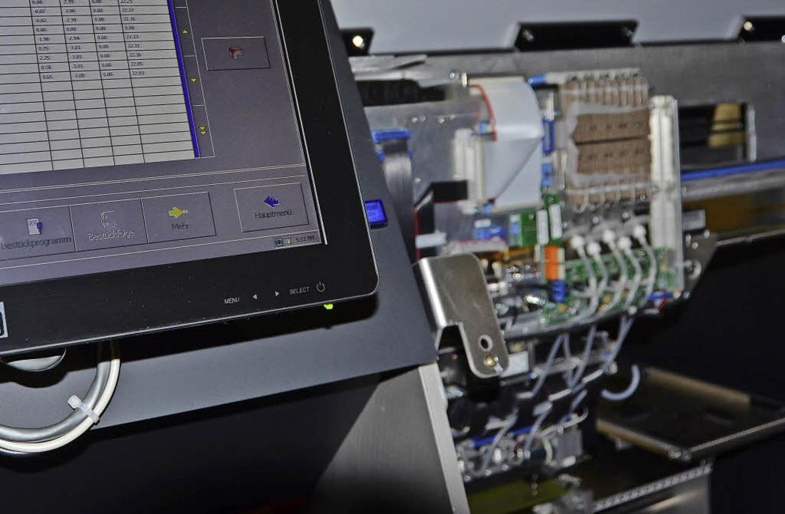 Es sind komplexe Systeme, die Mimot en...eter lang) punktgenau gesetzt werden.     Foto: Nikolaus Trenz