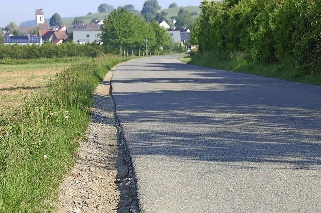 Straße muss dringend saniert werden