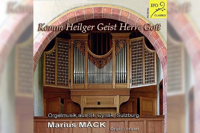 Marius Mack (Orgel): Geistvolles, Pfingstliches