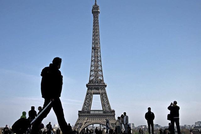 Eiffelturm blieb zu - aus Protest gegen Taschendiebe