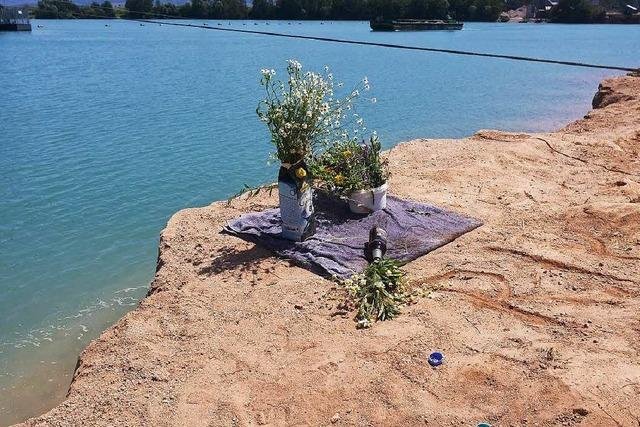 Nach tödlichem Unfall: Zaun soll jetzt Baden verhindern