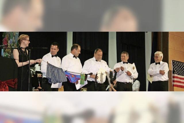 Trachtenkapelle Bleibach zeichnet langjährige Musiker aus