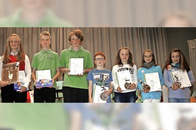 Auszeichnungen für den Nachwuchs