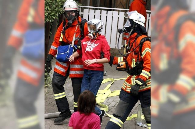 Schwieriger Einsatz für Feuerwehr