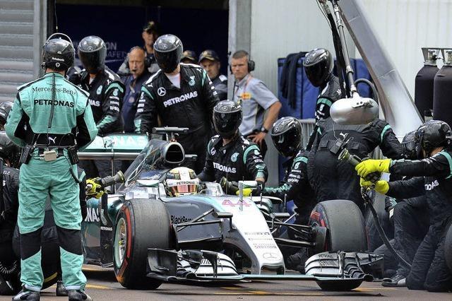 Der große Aussetzer bei Mercedes