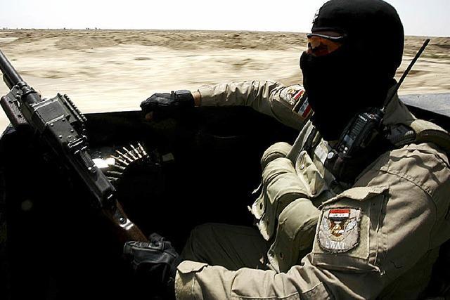 US-Minister kritisiert irakische Truppen nach Niederlage gegen IS
