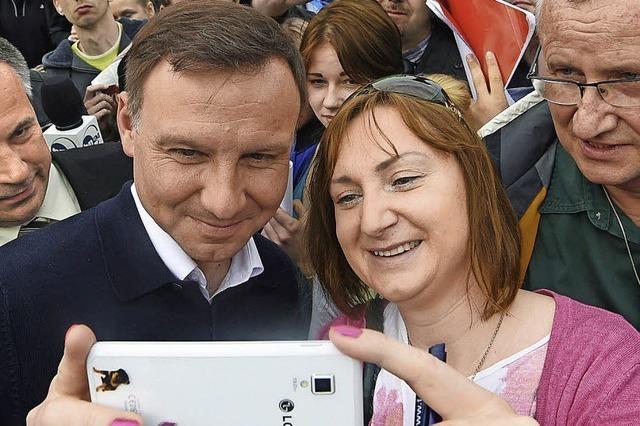 Andrzej Duda wird neuer Präsident in Polen