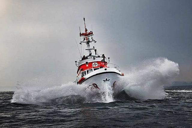 Wie ein Verein seit 150 Jahren Menschen aus Seenot rettet