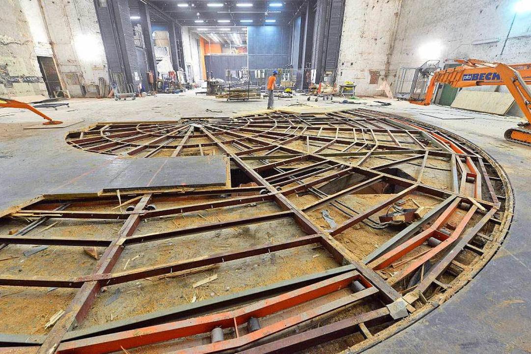 Die Sanierung im Theater Freiburg ging nicht ohne Probleme über die Bühne.  | Foto: Michael Bamberger