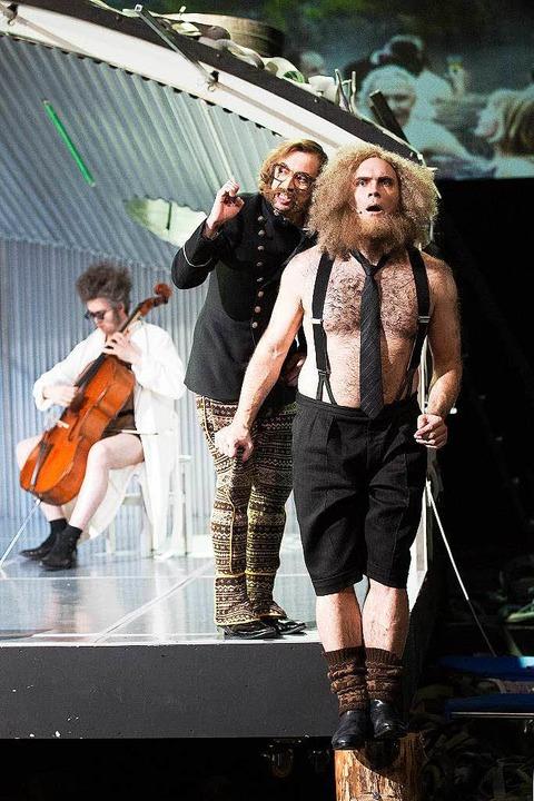 Szene aus der aktuellen Inszenierung v... den 9. Mai 2015   verschoben werden.   | Foto: rainer muranyi