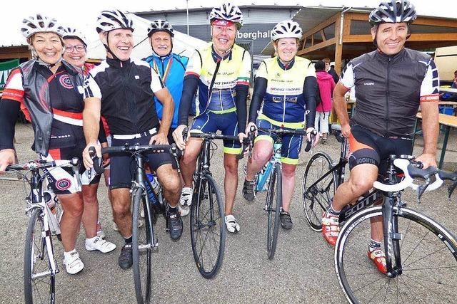 165 Radfahrer auf der Königsetappe