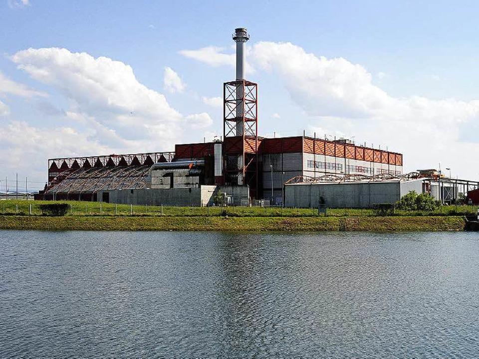 Die Industrieruine Thermoselect wurde ...und bereits im Jahr 2003 stillgelegt.   | Foto: Stefan Jehle