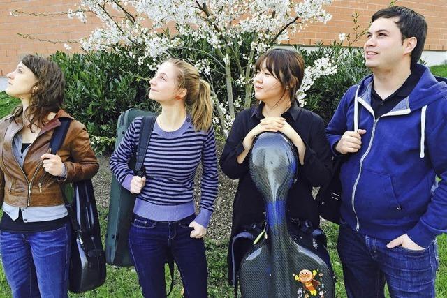 Das Esperanto-Quartett spielt im Freiburger depot.K