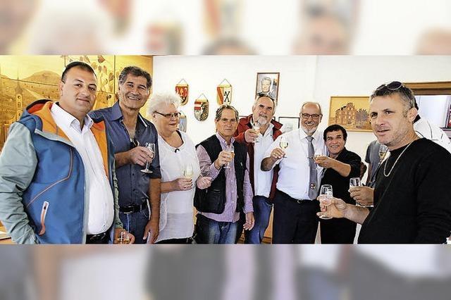 Herzlicher Empfang für Besuchergruppe aus Israel