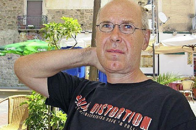 Wolfgang Bortlik stellt seinen Krimi