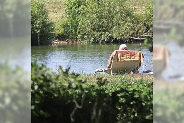 Wasserqualität in fast allen Emmendinger Badeseen ausgezeichnet