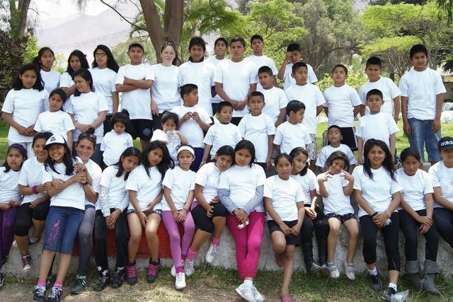 Party für Straßenkinder in Lima im Jos-Fritz-Café