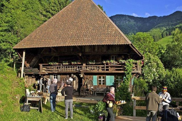 Theater und Führungen im Kaltwasserhof im Münstertal