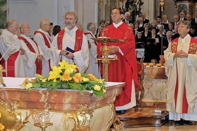 Gleich drei Priesterjubiläen in St. Peter