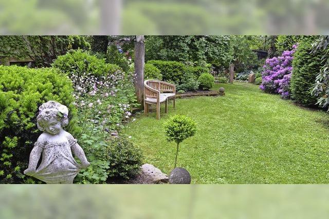 Garten mit eigenem Stil