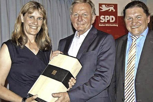 Im Einsatz gegen ein Imageproblem der SPD in ländlichen Gebieten