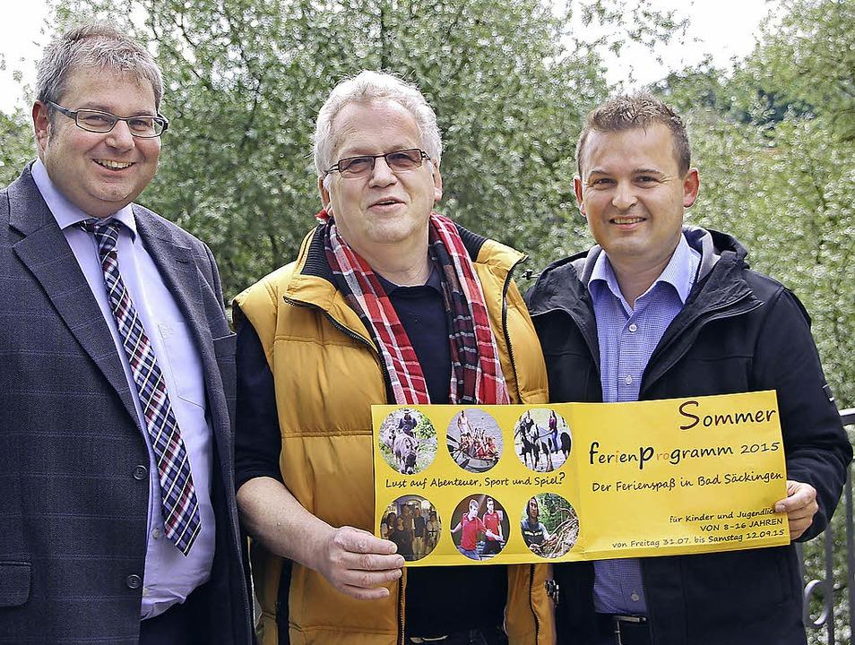 Auf das Sommerferienprogramm für Bad S...r Alexander Guhl lobt die Initiative.   | Foto: Susanne Kanele