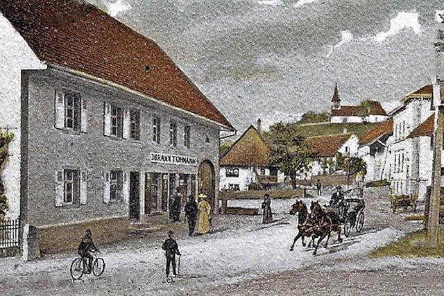Öflingen wurde zum Bergbaudorf