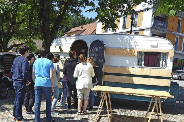 Wanderndes Architekturstudio macht in Schönau halt