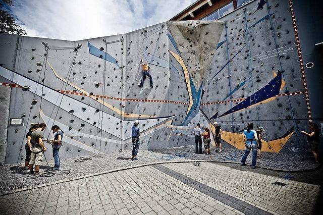 Kletterkurs für Jugendliche im Alten Wasserwerk in Lörrach