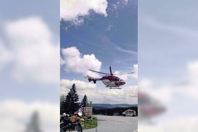 Bergwacht hilft bei zwei Unfällen