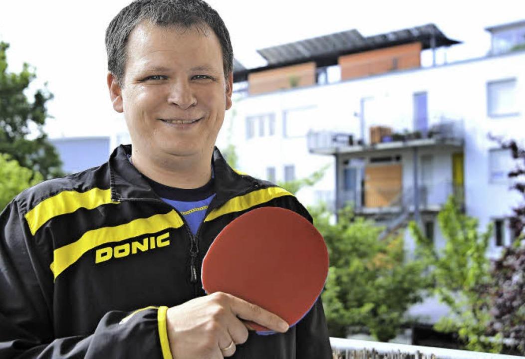 Konstantin Chepkasov war schon als Kin...; und ist beim Tischtennis geblieben.   | Foto: Bamberger