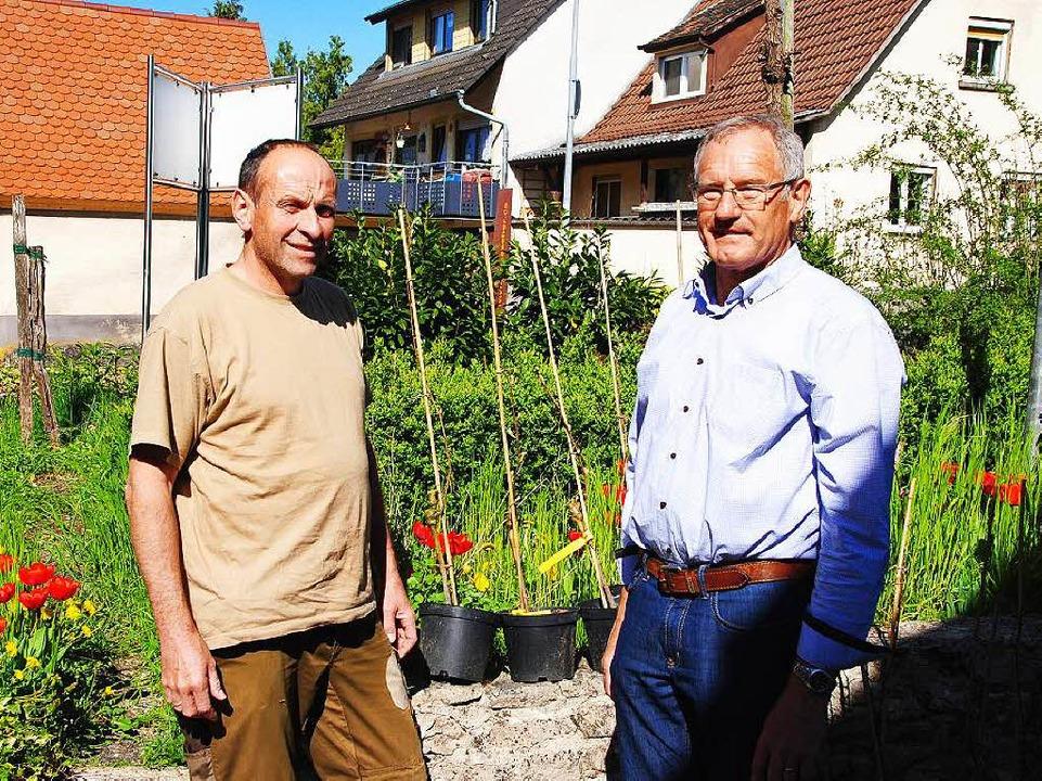 Christoph Süßle (links) und Karlheinz Thoma  | Foto: Manfred Frietsch