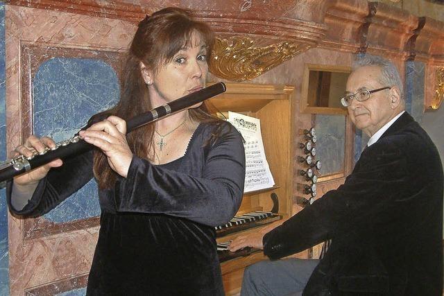 Flöte und Orgel in Harmonie vereint