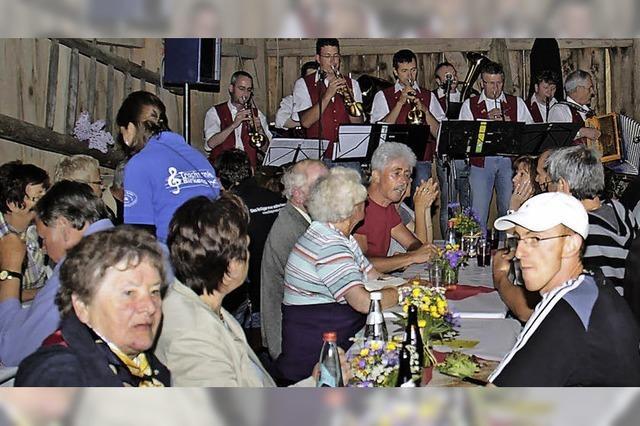 In Birkendorf findet das Schopfschellenfest statt