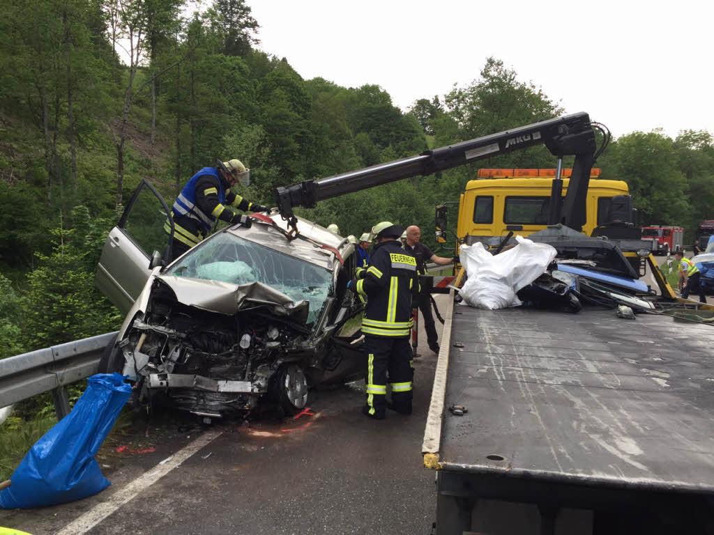 Unfall B317 Schopfheim Heute