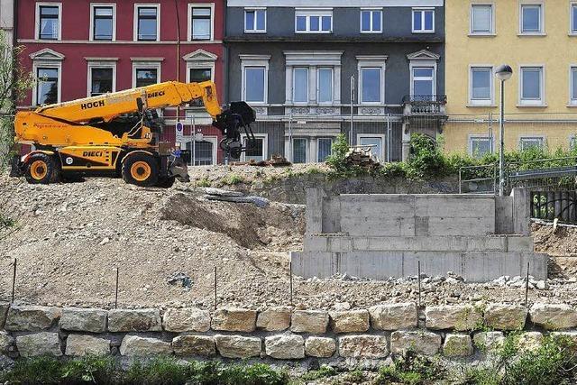Großbaustelle Kronenbrücke: Vorbereitungen für den Abriss