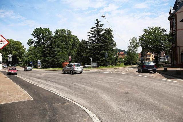 Die Lahrer Werderstraße ist saniert