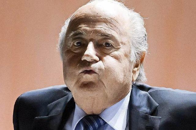 Blatter bleibt Fifa-Präsident – kein zweiter Wahlgang