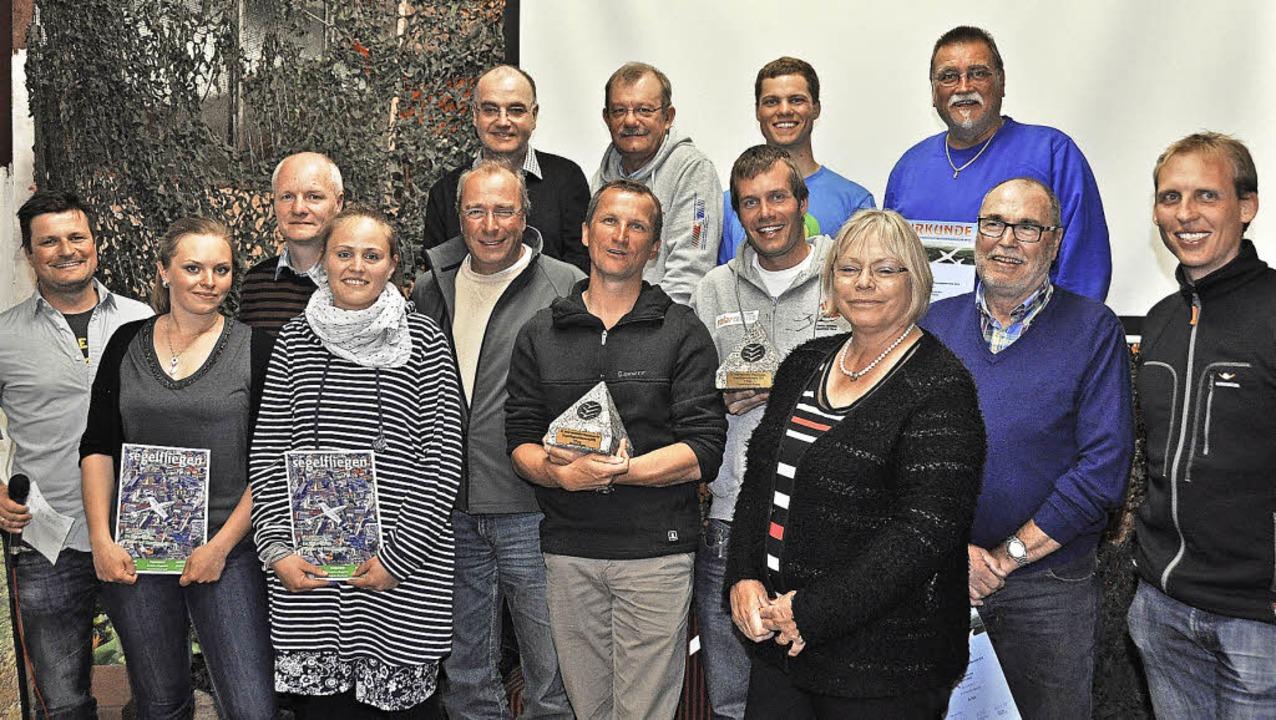 Die Wettbwerbsleitung gratuliert den b...tverbandes Baden, Monika Lang-Dahlke.   | Foto: Kirsten Lux