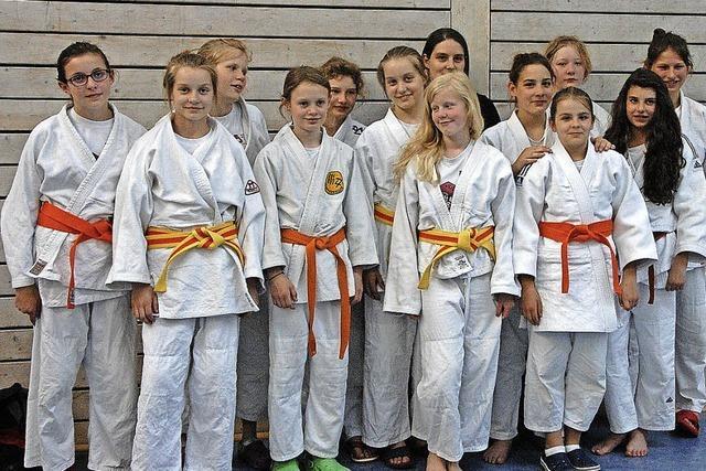 U-15-Judoteam mischt mit