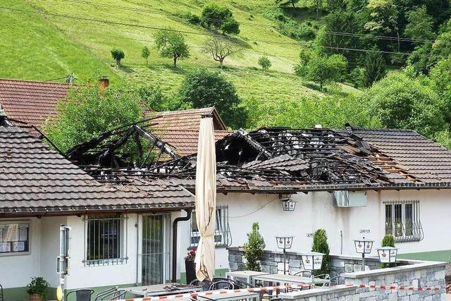 150.000 Euro Schaden bei Brand in Sportheim