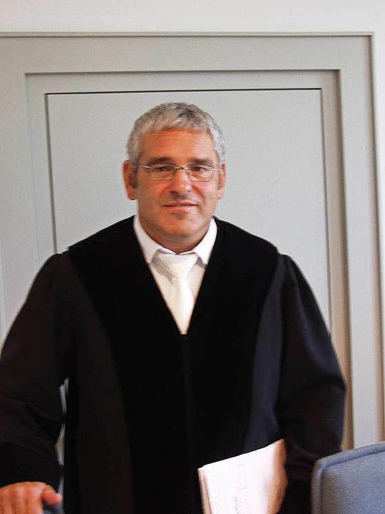 Thomas Ullenbruch bei seinem Amtsantritt in Emmendingen.   | Foto: Dürbeck