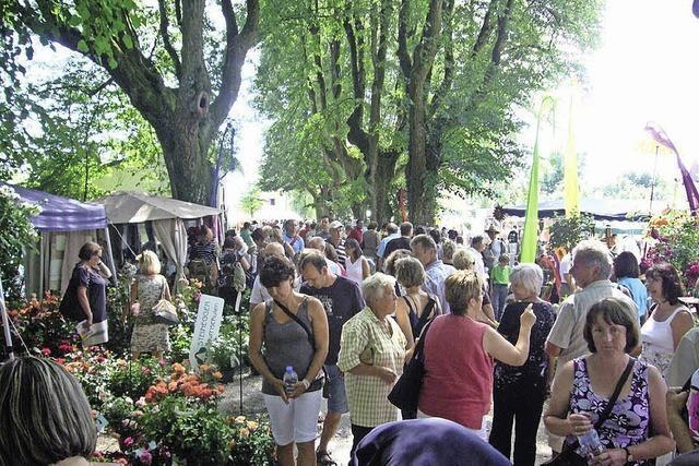 Messe Gartenzauber in Weil am Rhein