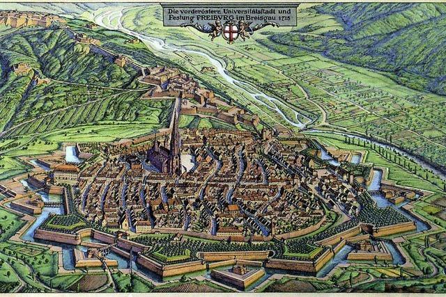 Auf den Spuren der Vaubanschen Festung geht es durch die Stadt.