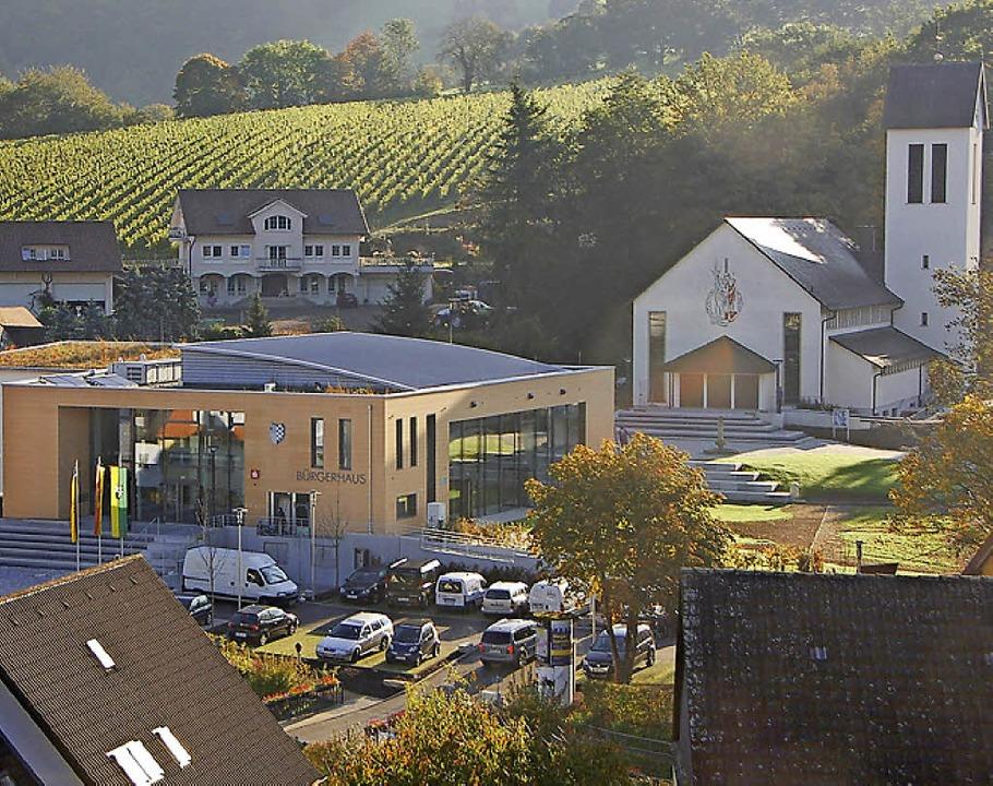 Vorbild für Gottenheim:  neue Ortsmitte in der Hexentalgemeinde Au.     Foto: Tanja Bury