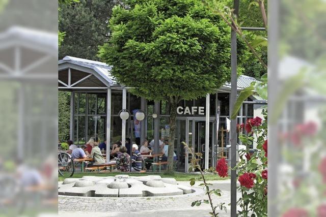 Café Rosengarten: Einkehren zwischen Park und Rosen