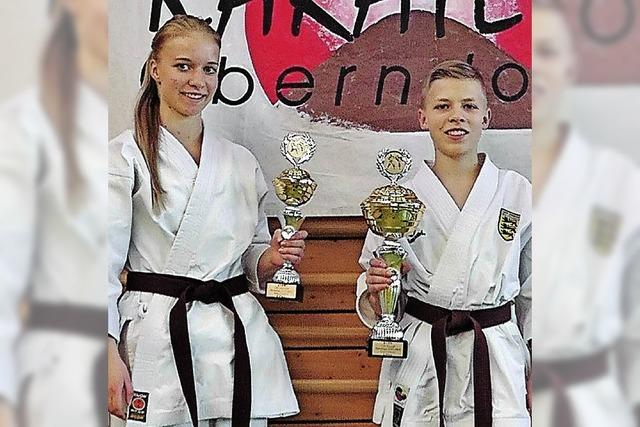 Landesmeister in Karate