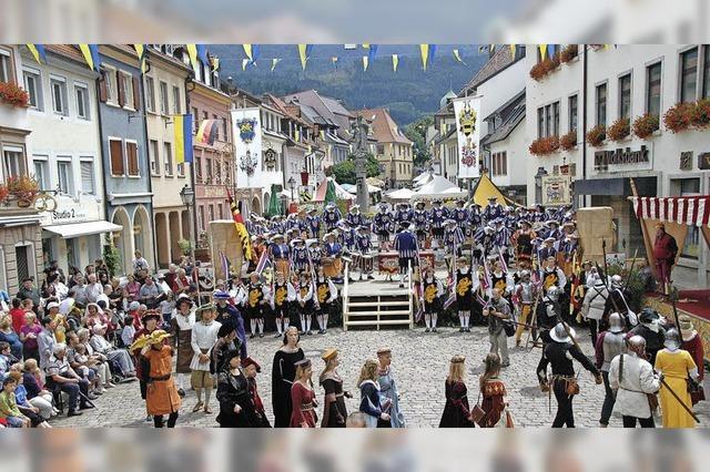 Das mittelalterliche Spectaculum rückt näher